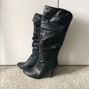 ALDO knee high boots.